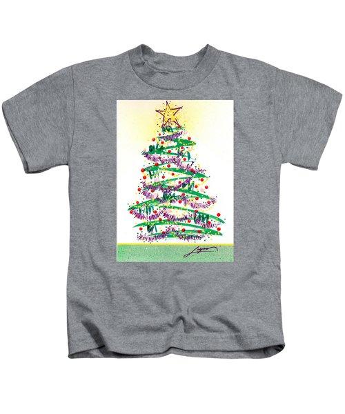 Festive Holiday Kids T-Shirt