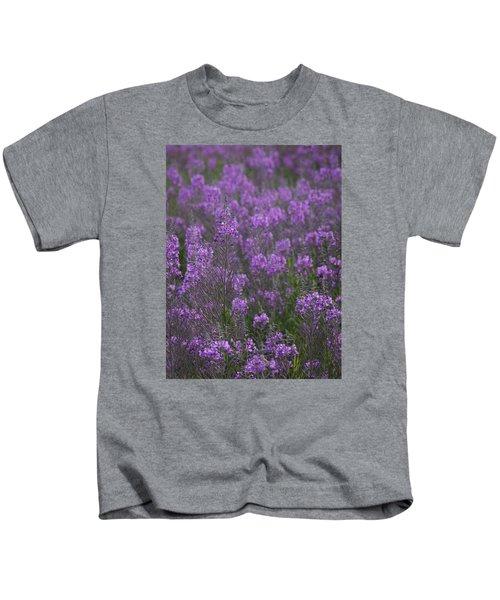 Field Of Fireweed Kids T-Shirt