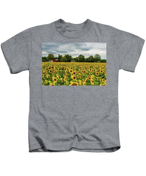 Field Of Sunshine Kids T-Shirt