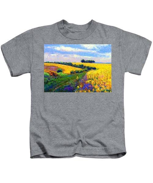 Fields Of Gold Kids T-Shirt