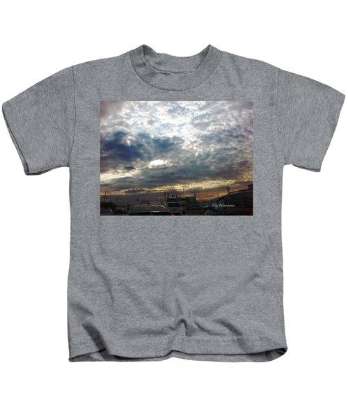 Fierce Skies Kids T-Shirt
