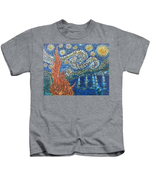 Fiery Night Kids T-Shirt
