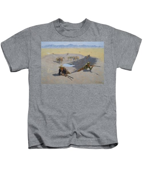 Fight For The Waterhole Kids T-Shirt