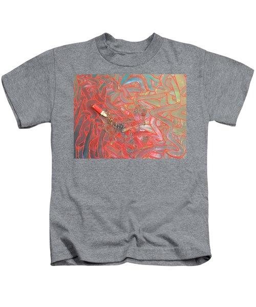Finger Painting Kids T-Shirt