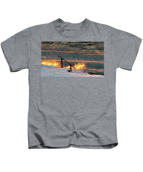 Fire And Ice Kids T-Shirt