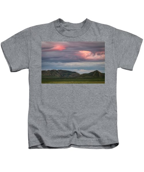 Glow In Clouds Kids T-Shirt