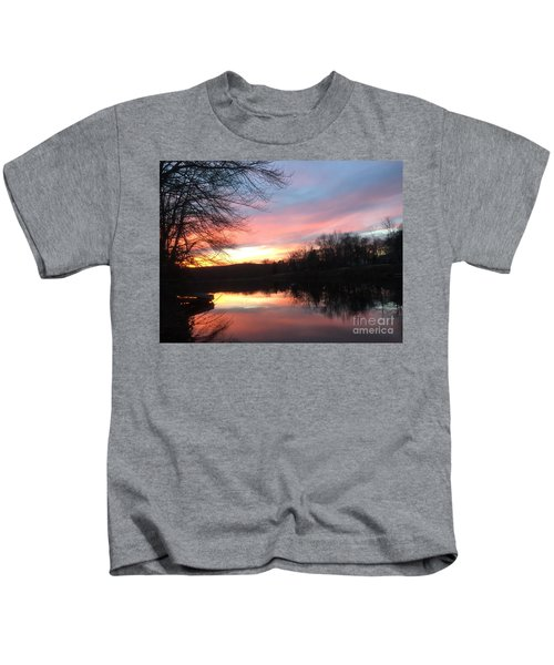 Fire On The Water Kids T-Shirt