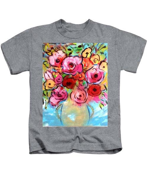First Roses Of Summer Kids T-Shirt