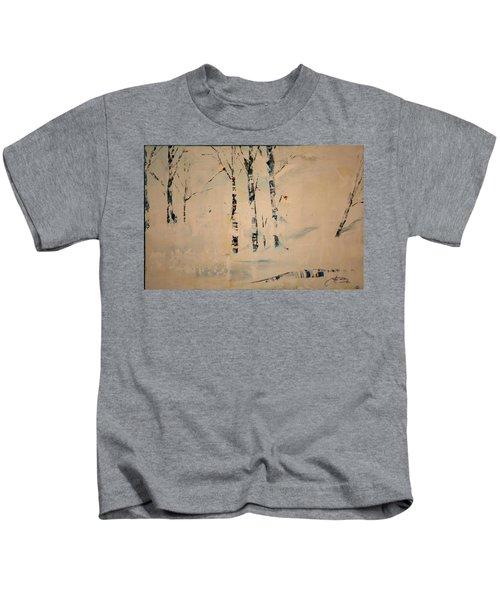 First Snow Central Park Kids T-Shirt