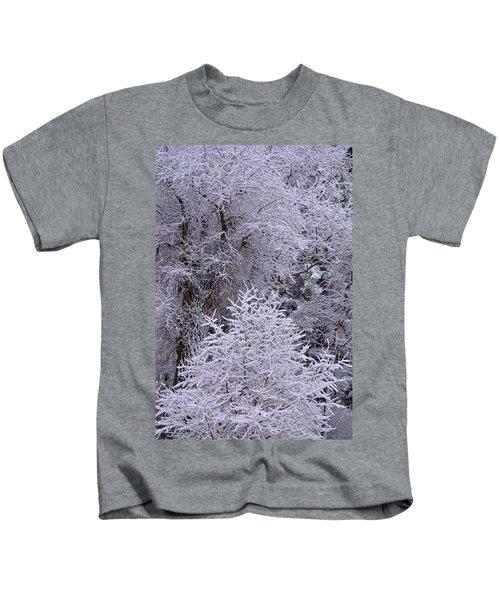 First Snow I Kids T-Shirt