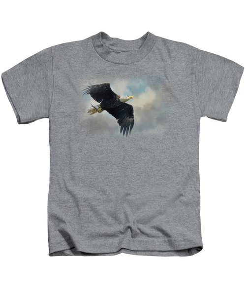 Fish In The Talons Kids T-Shirt by Jai Johnson