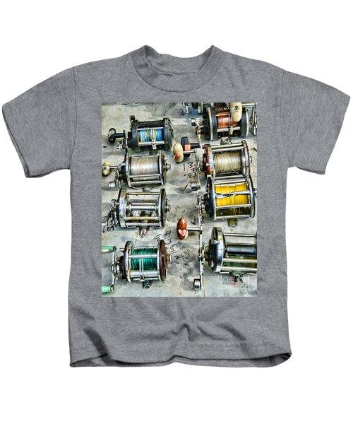 Fishing - Fishing Reels Kids T-Shirt
