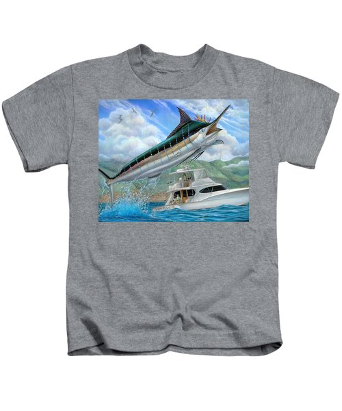 Fishing In The Vintage Kids T-Shirt