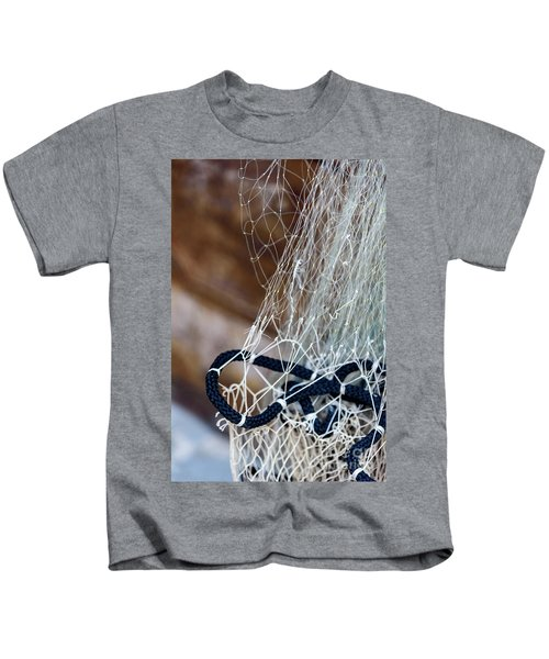 Fishing Net Details - Rovinj, Croatia Kids T-Shirt