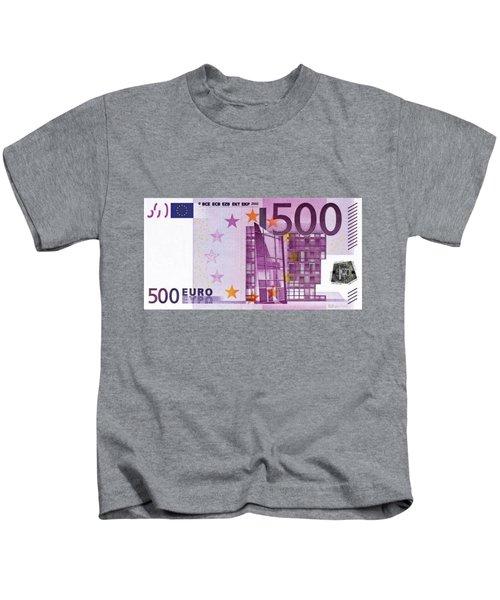 Five Hundred Euro Bill Kids T-Shirt