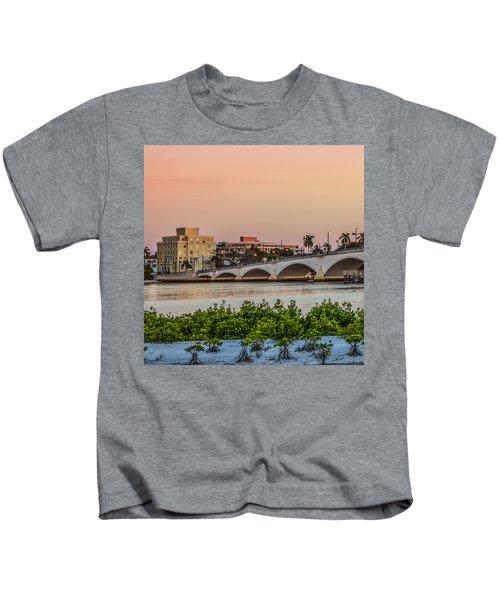 Flagler Bridge In The Evening I Kids T-Shirt