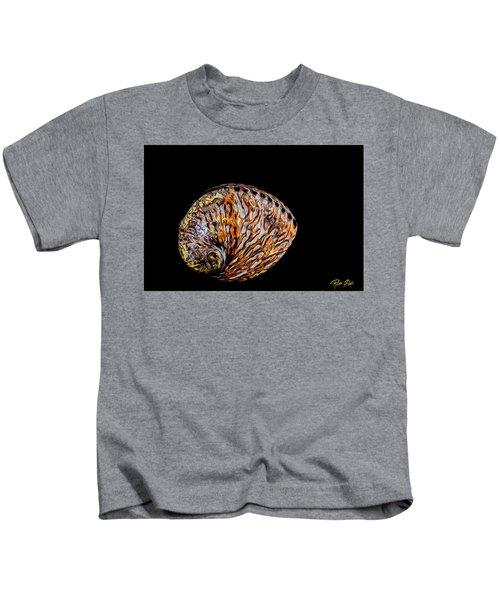 Flame Abalone Kids T-Shirt