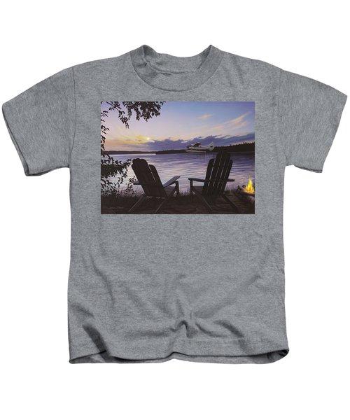 Float Plane Kids T-Shirt
