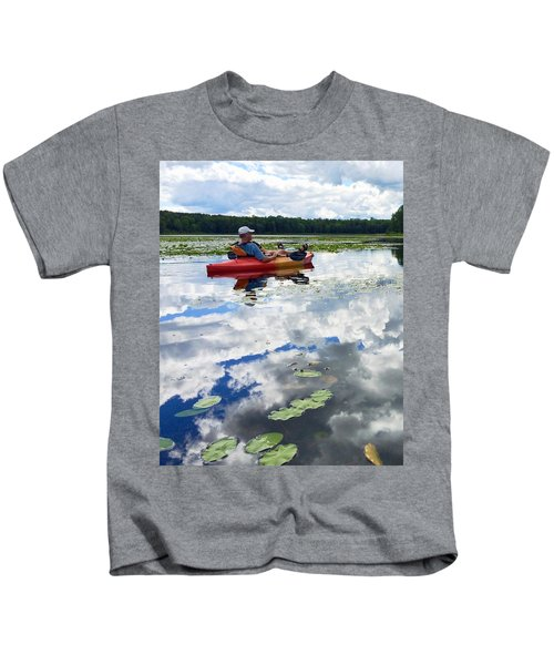 Floating In The Sky Kids T-Shirt