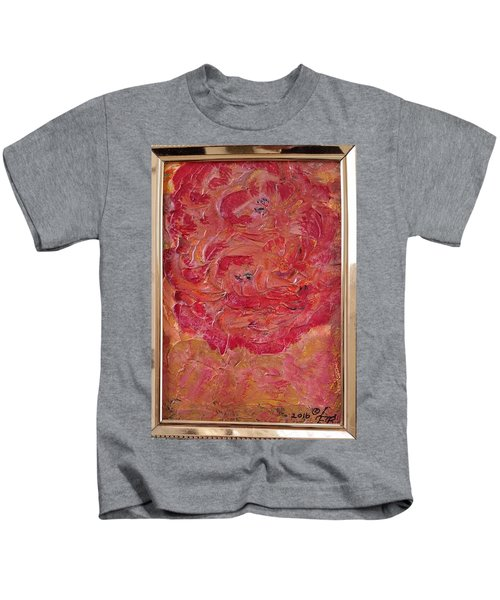 Floral Abstract 1 Kids T-Shirt