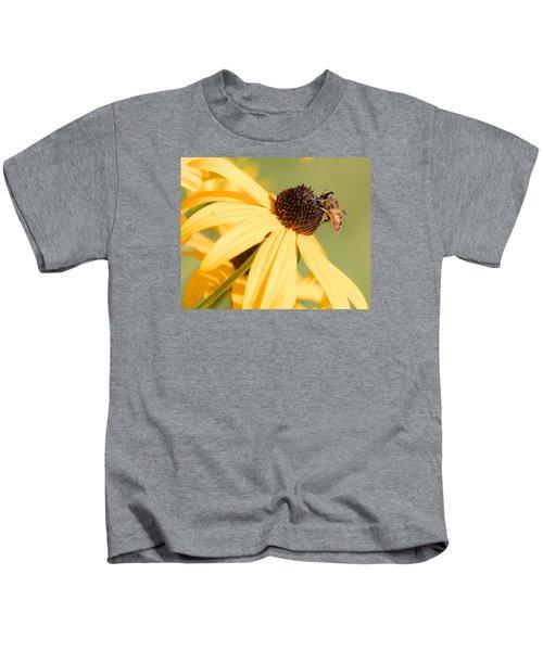 Flower Fly Kids T-Shirt