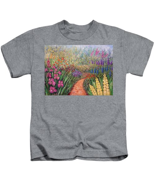 Flower Gar02den  Kids T-Shirt