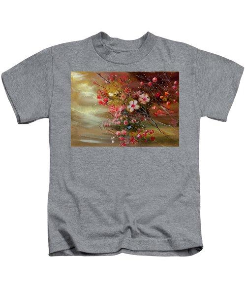 Flowers 2 Kids T-Shirt
