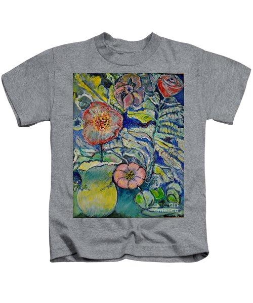 Flowers Gone Wild Kids T-Shirt