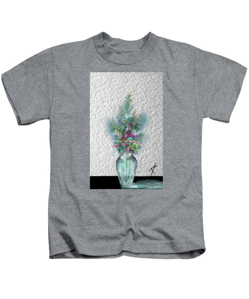 Flowers Study Two Kids T-Shirt