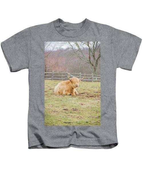 Fluffy Yak Kids T-Shirt