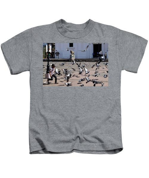 Fly Birdies Fly Kids T-Shirt
