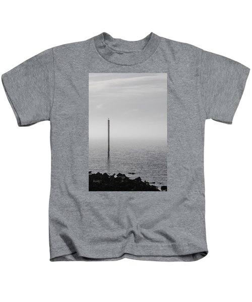 Fog On The Cape Fear River On Christmas Day 2015 Kids T-Shirt