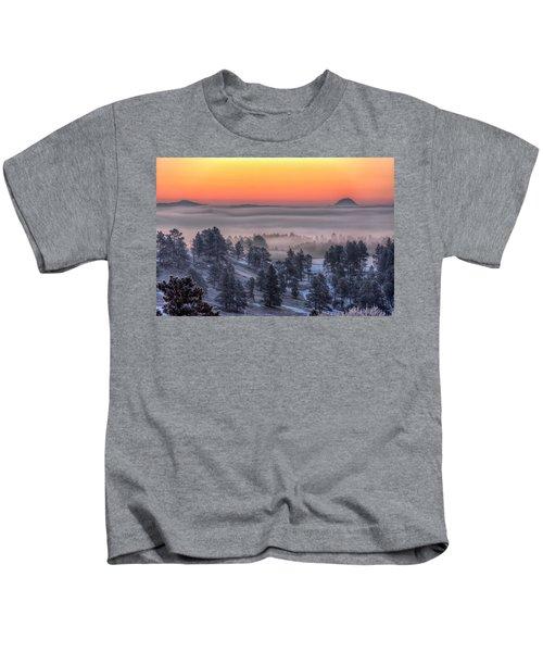 Foggy Dawn Kids T-Shirt