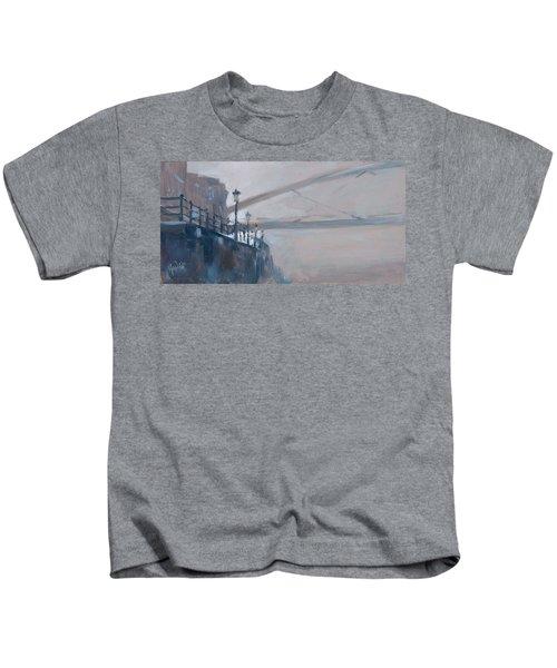 Foggy Hoeg Kids T-Shirt by Nop Briex