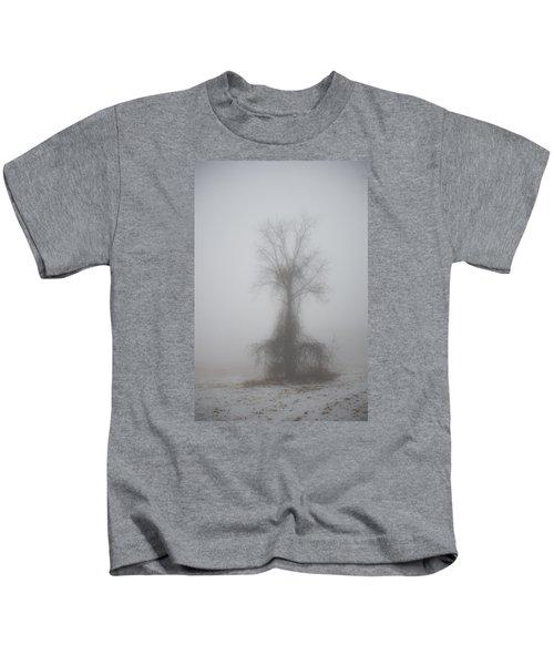 Foggy Walnut Kids T-Shirt