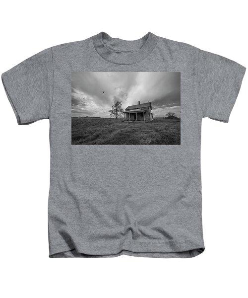 Follow The Buzzards Kids T-Shirt