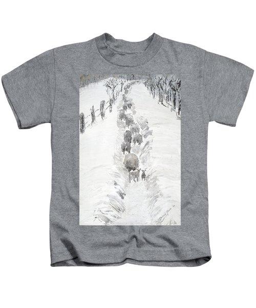 Follow The Flock Kids T-Shirt