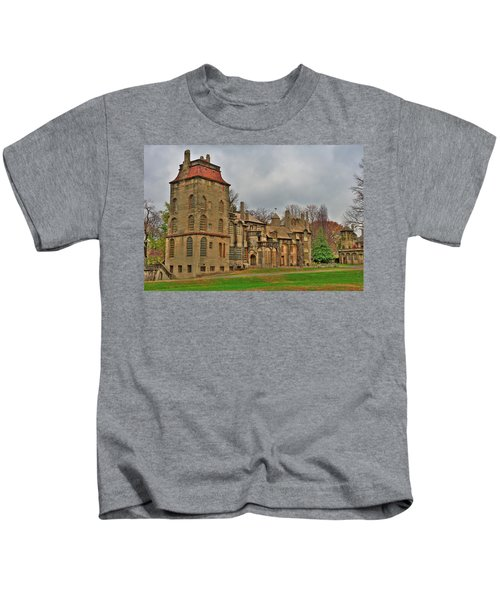 Kids T-Shirt featuring the photograph Fonthill Castle by William Jobes