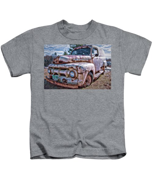Ford Panel Truck Kids T-Shirt