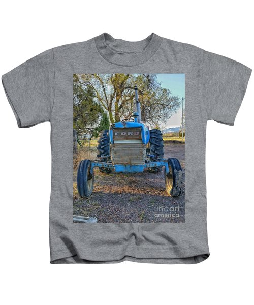 Ford Tractor Kids T-Shirt