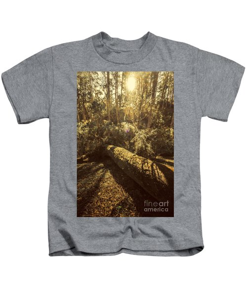 Forest In Fall Kids T-Shirt