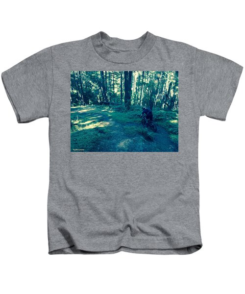 Forest Ride Kids T-Shirt