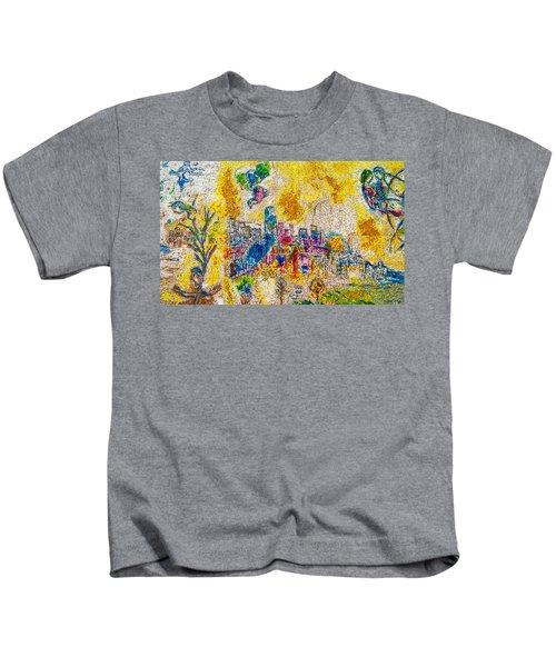 Four Seasons Chagall Kids T-Shirt