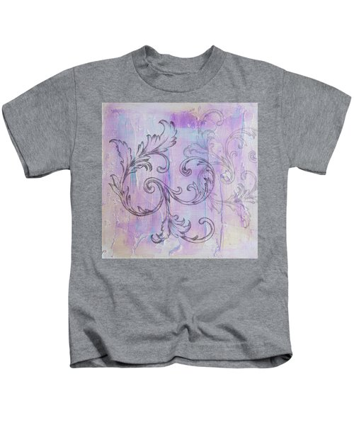 French Country Scroll Kids T-Shirt
