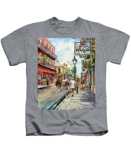 French Quarter Antiques Kids T-Shirt