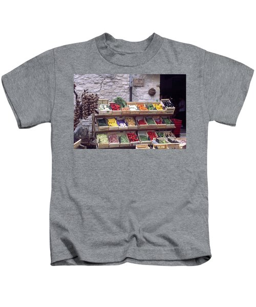 French Vegetable Stand Kids T-Shirt