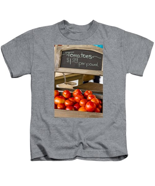 Fresh The Garden Tomatoes Kids T-Shirt