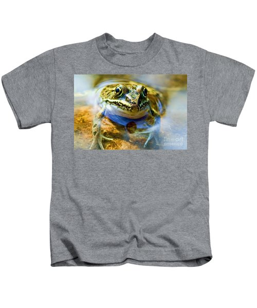Frog In Pond Kids T-Shirt