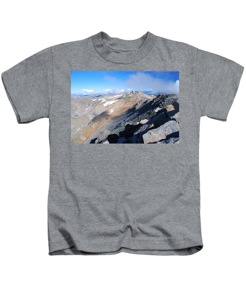 From Atop Mount Massive Kids T-Shirt