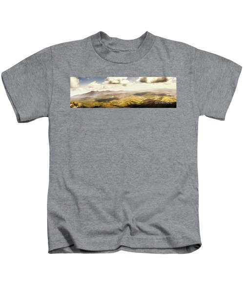 From Zeehan To Trial Harbour Kids T-Shirt